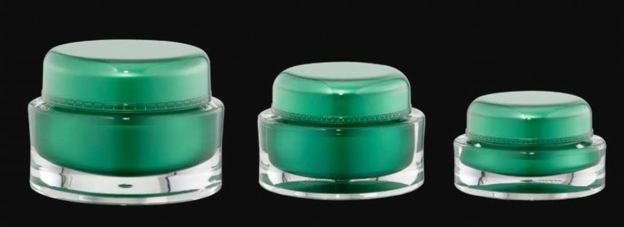 Packaging Cosmetic Jars Acrylic Bottle And Jar
