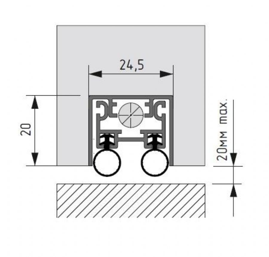 Automatic  down seal
