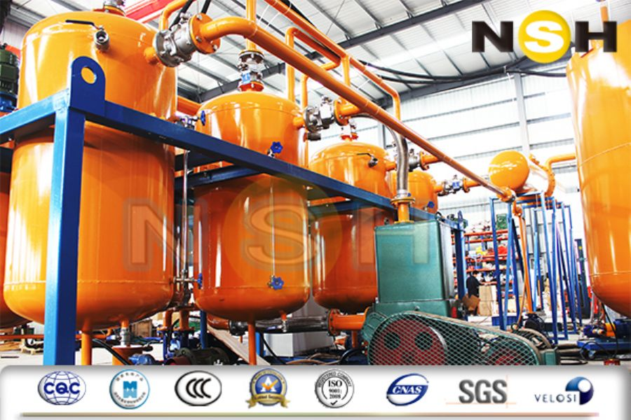 GED-WD Waste Oil To