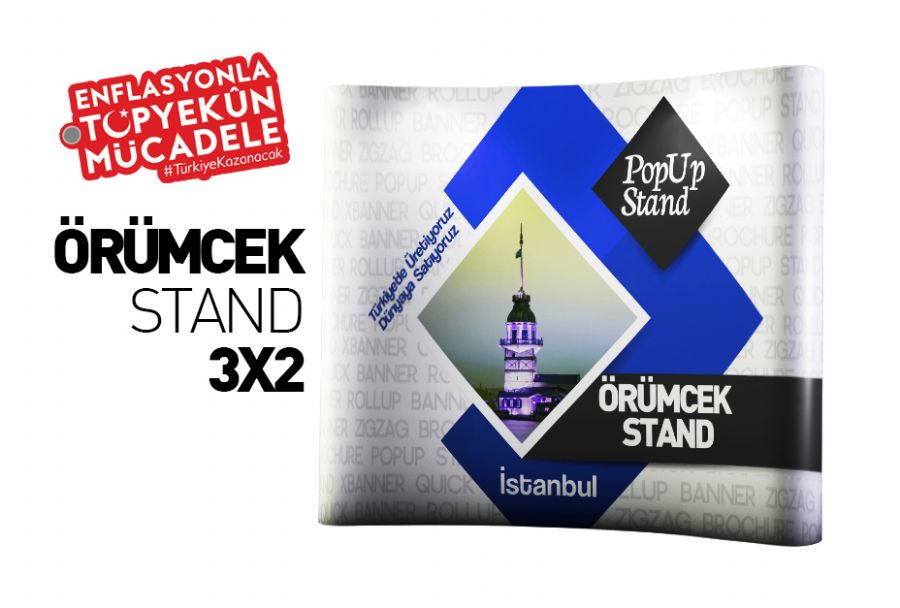 Oval �r�mcek Stand +