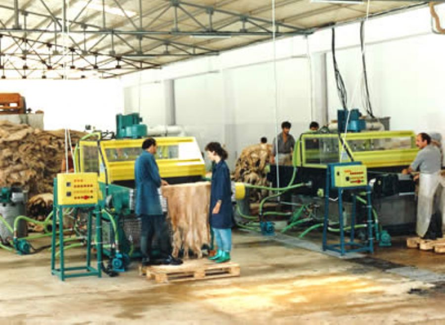 tannery machines