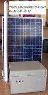 solar(güneş) panelleri ve rüzgar jenaratörü