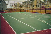 Tennis Court Floorin
