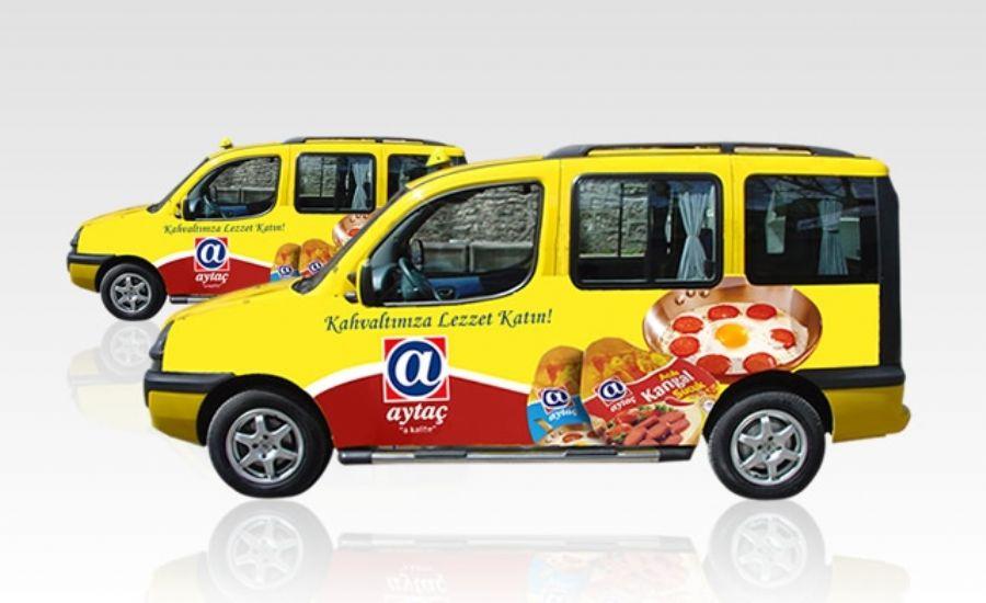 Taxi  Otobüs reklmal