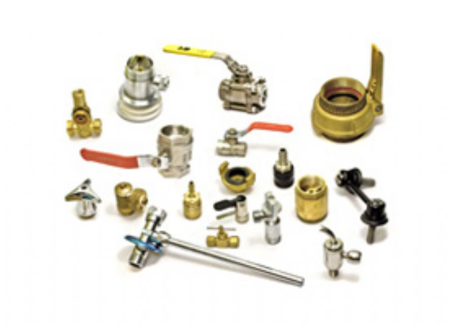 brass valves and fit