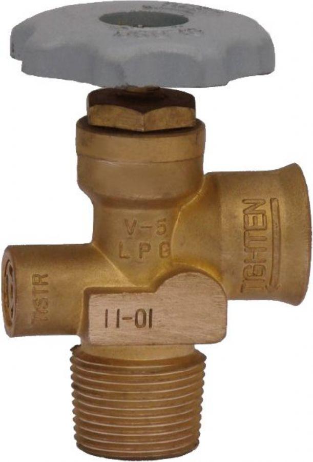 brass valve & needle