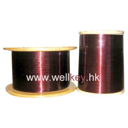Enamelled aluminum round wire, Enamelled Aluminium rectangular strip, Enamelled aluminium flat wire,