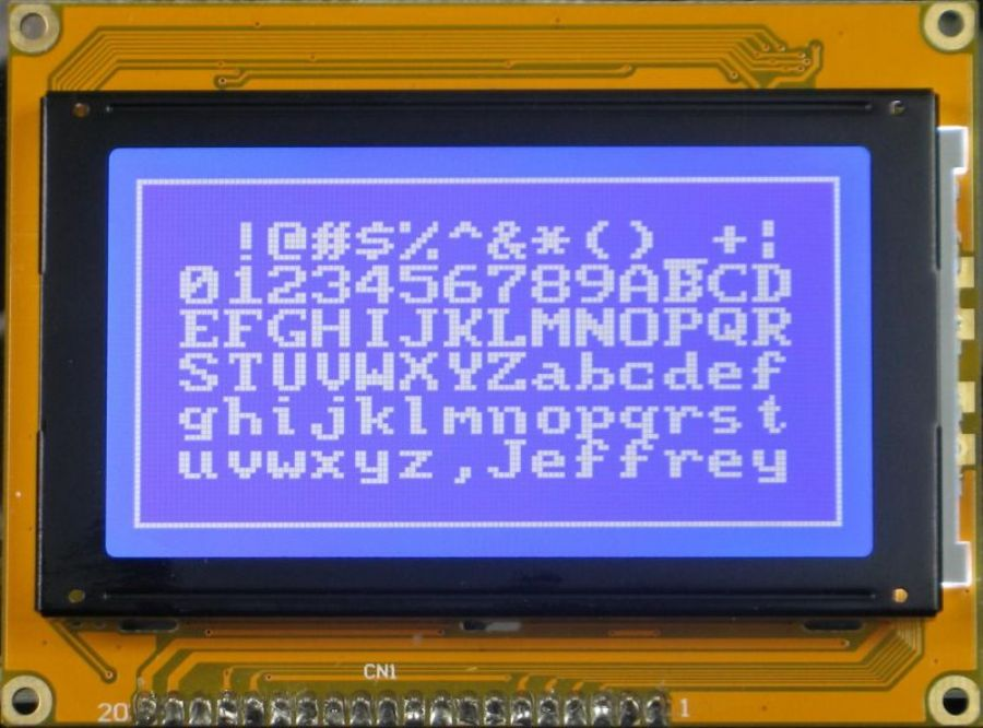 LCM and LCD Module