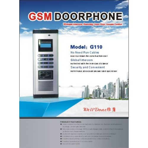 GSM Wireless Door Ph