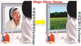 Magic Mirror -ultra slim Alum Frane LED Ligh Box