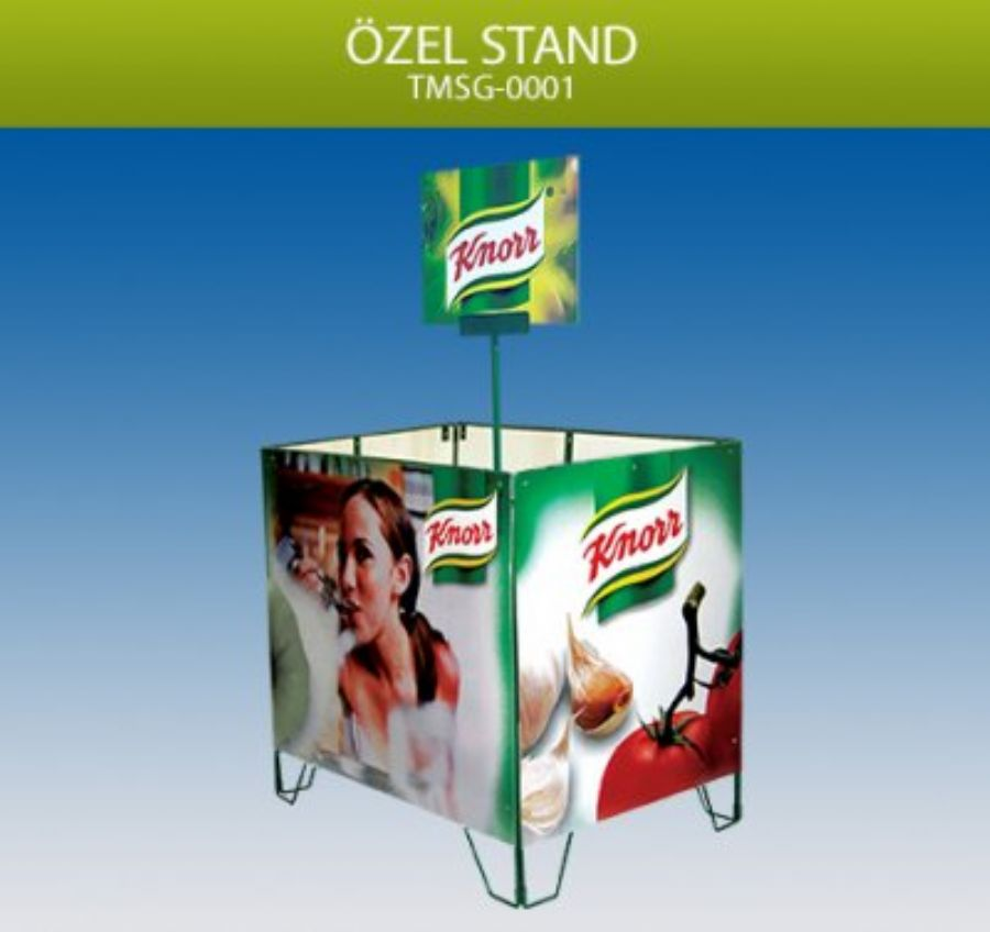 Stand Display �r�nle