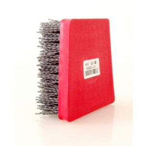 abrasive brush
