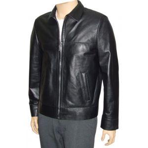 Box Leather Jacket