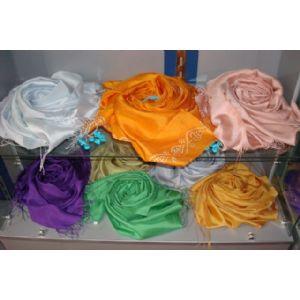 %100 silk; scarves c